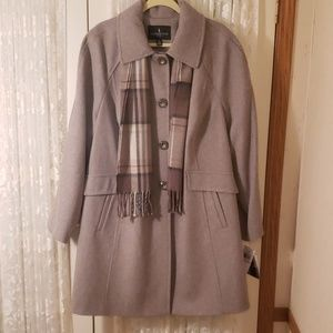 BNWT Wool Blazer Coat